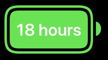Längere Batterielaufzeiten sprechen für den Einsatz von Mac im Unternehmen
